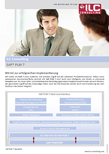 PLM7 SAP Software ILC Consulting GmbH